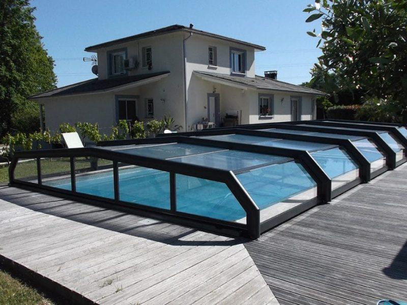 Abri-Bas-Piscine Design concept fabrication française