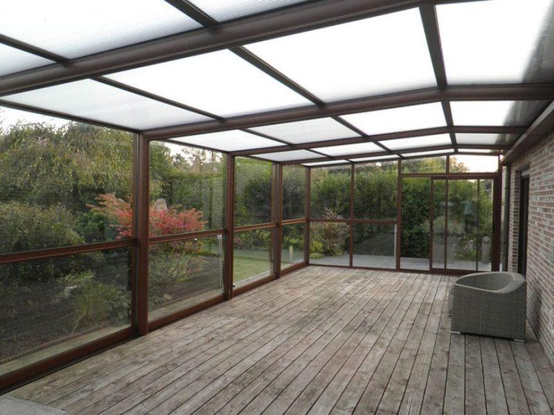 Abri Terrasse et terrasse en bois