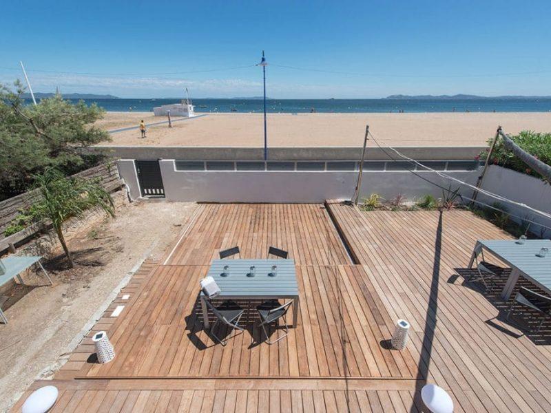 Terrasse Mobile en bois sur mesure