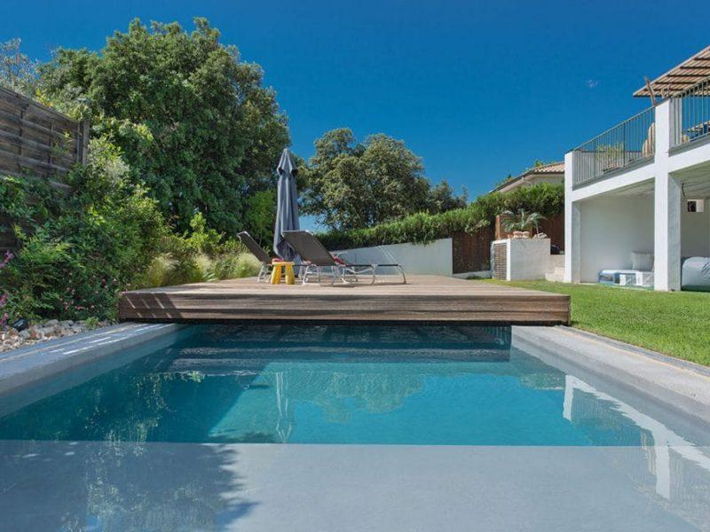 Terrasse Mobile idéal pour piscine urbaine