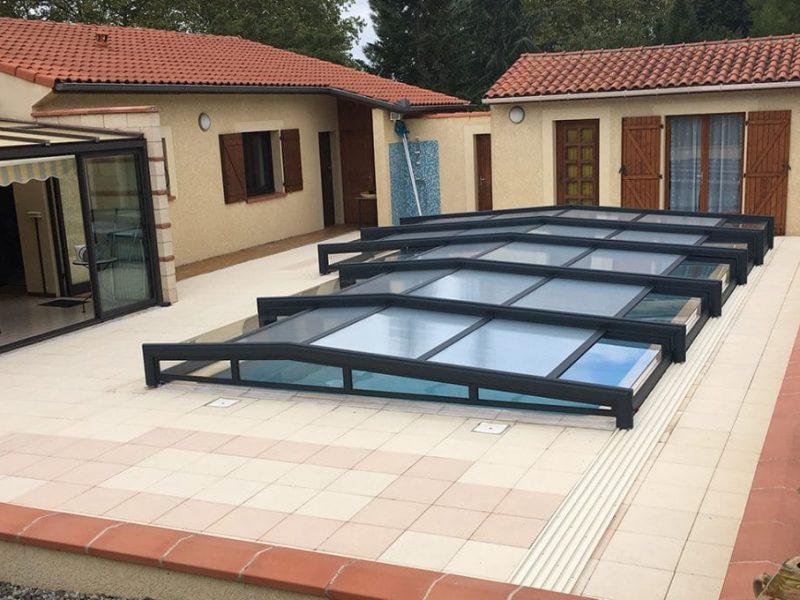 Design Concept LS plus de 25 ans d'experience pour la réalisation d'abri bas pour piscine