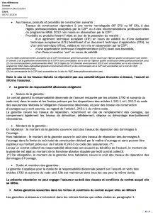 Attestation decennale DCLS du 01-07-2018 au 01-07 Garantie 10 ANS