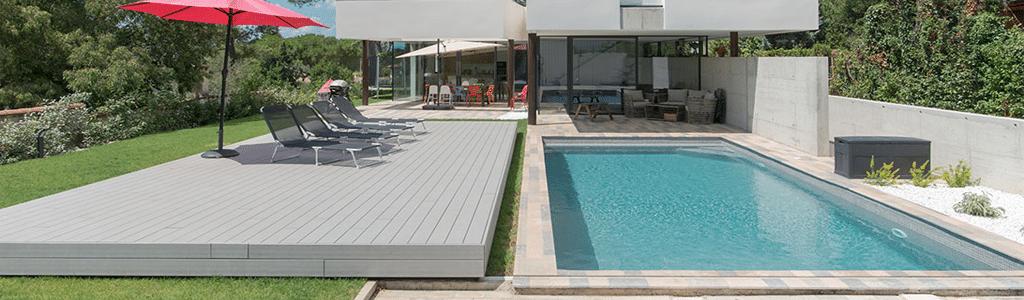 Fabricant Terrasse Mobile amovible abri piscine escamotable ...