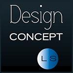 logo DCLS - design Concept LS - aménagements et abris pour piscines