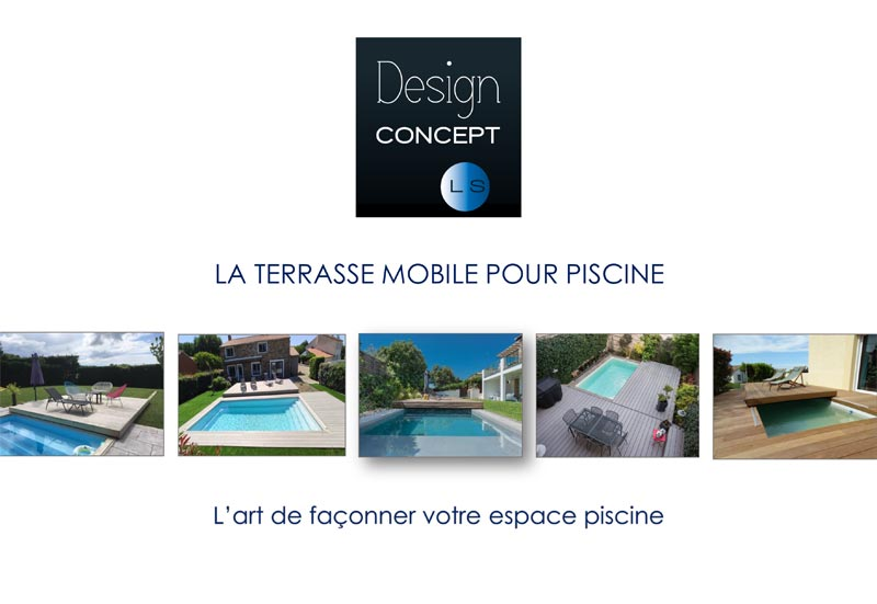 Catalogue des terrasses mobiles de Design Concept LS