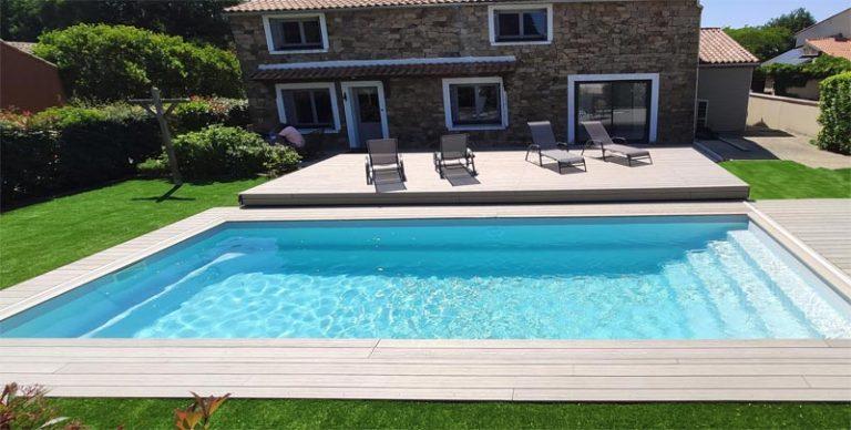 terrasse mobile pour piscine par DCLS