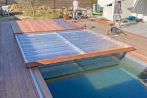 La terrasse mobile pour piscine: les étapes de l'installation