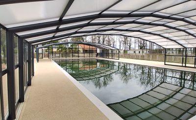 Abri haut de piscine pour camping