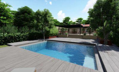 La terrasse mobile de piscine: les étapes de la mise en place