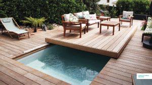 terrasse mobile couverture de piscine
