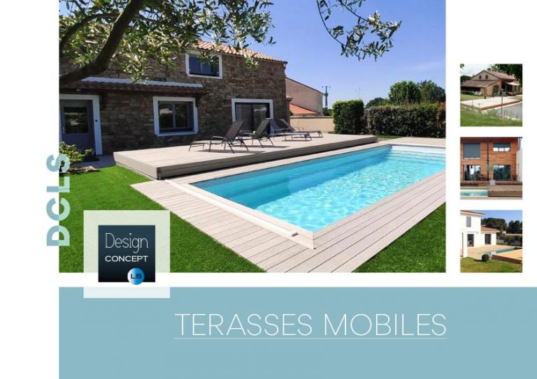 catalogue terrasse mobile de piscine